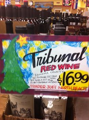 Tribunal Cellars Red Shelf Talker