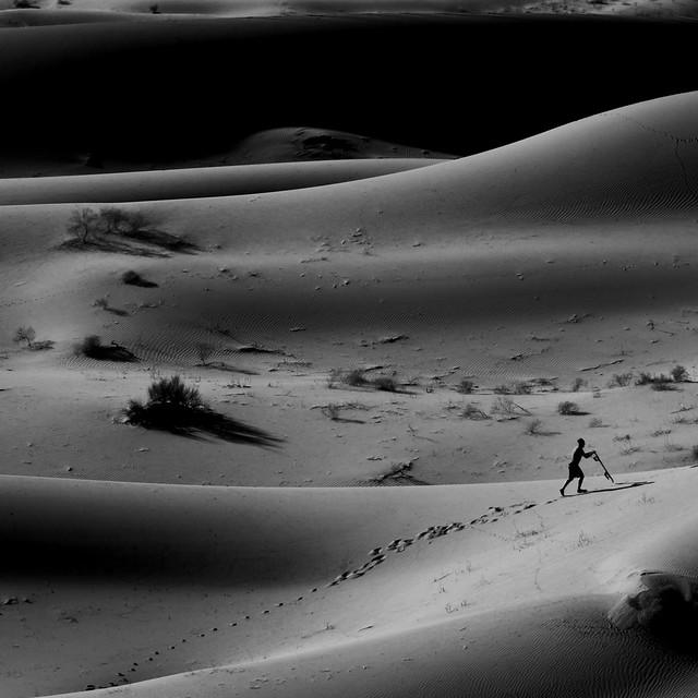 Navegando dunas