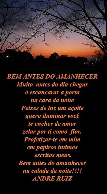 BEM ANTES DO  AMANHECER