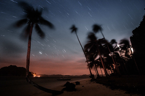 Pinabuyatan Island star trails
