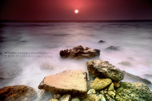 longexposure sunset seascape landscape dramatic rocky jeddah ksa nikond90 waseemasmar