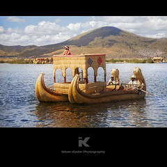 Reed boat of Lake Titicaca