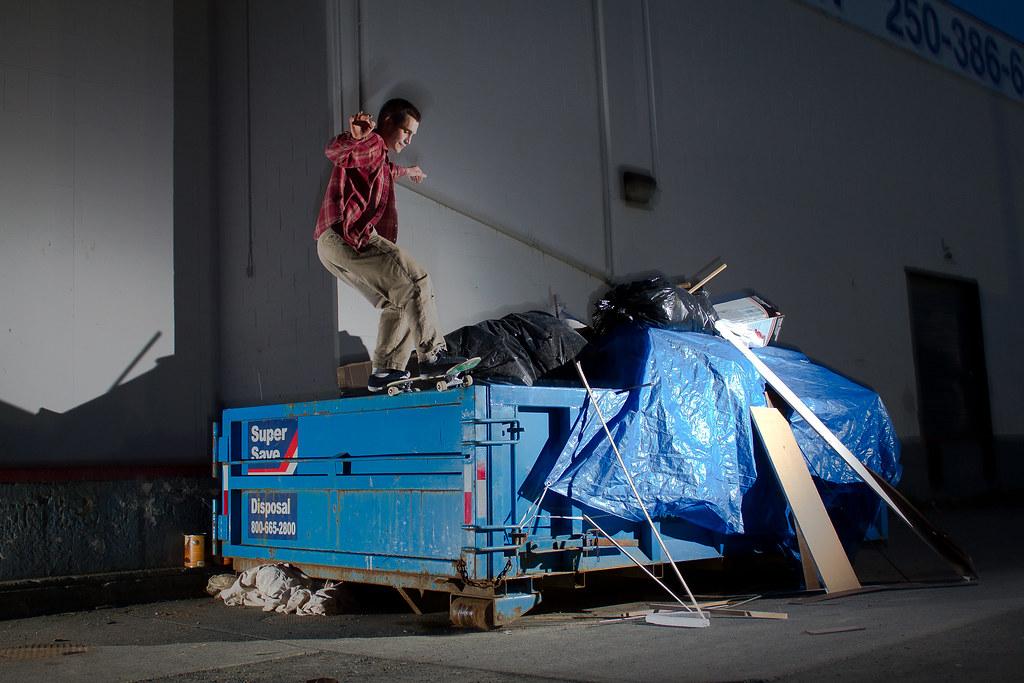 Leon dumpster 50-50