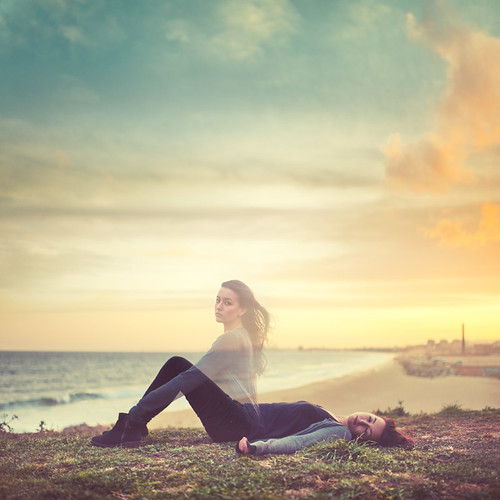 sunset sea sky girl portraits mar chica flavor alma faith ghost dream cielo soul asleep ahi puesta fantasma sueño