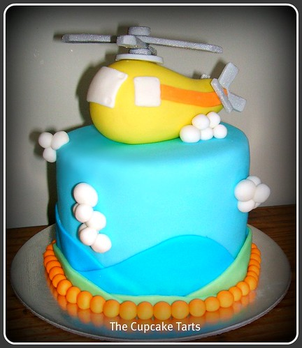 How To Make A Helicopter Birthday Cake