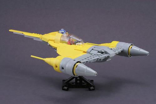 star lego wars naboo moc starfighter mar31