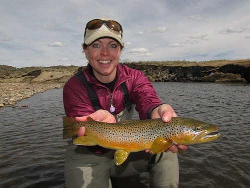 Rachel and Brown Trout