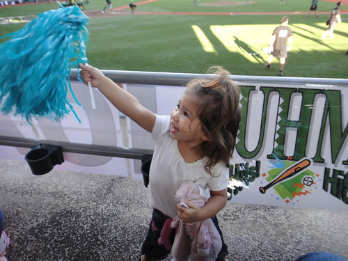 <p>Fans of all ages enjoyed stadium food and fun at the UH AUW Softball Tourment at Les Murakami Stadium on Sept. 30, 2011</p>