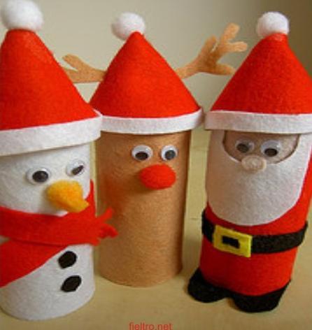 6218756460 - Manualidades con rollos de papel higienico para navidad ...