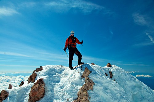 Brett on the Summit! | by b.heliker