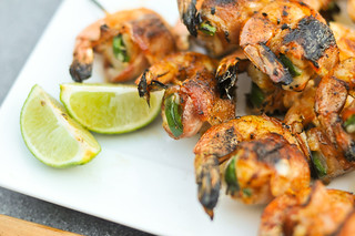 Bacon-Wrapped, Jalapeno and Cheese-Stuffed Shrimp