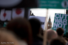 Stop War Coalition Occupy Trafelgar Square