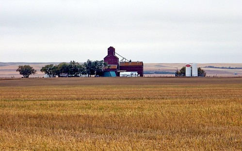 red canada color colour building farm gasstation coop sk prairie saskatchewan agriculture grainelevator perdue 2011 canadagood thisdecade
