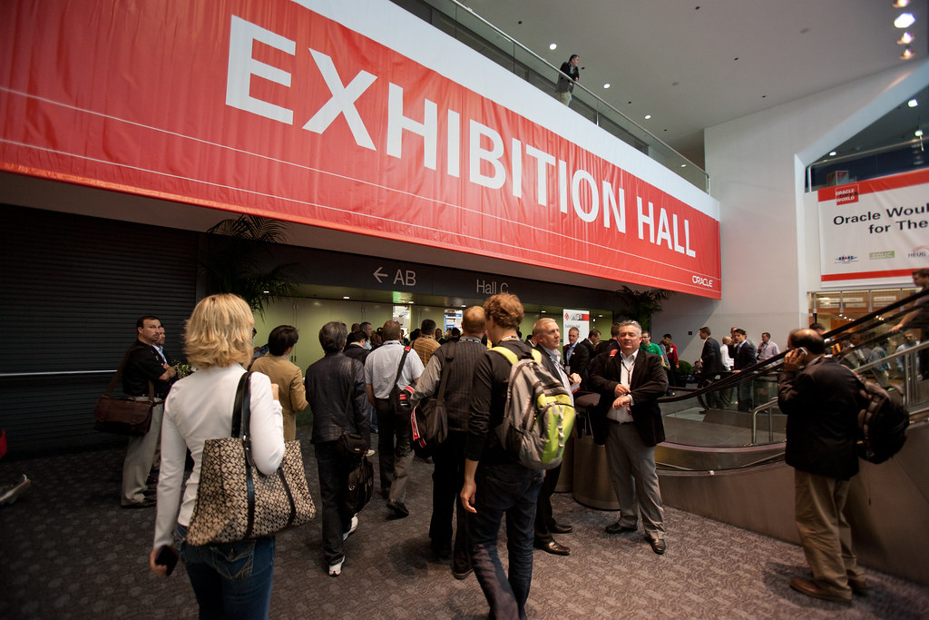 Oracle OpenWorld 2011 - Exhibition Hall Entrance