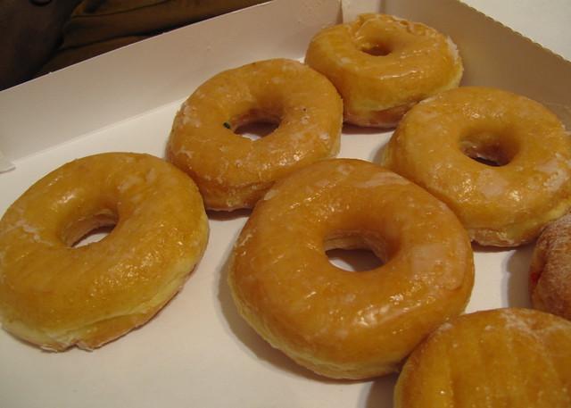 Dunkin' Donuts' glazed donuts | Flickr - Photo Sharing!