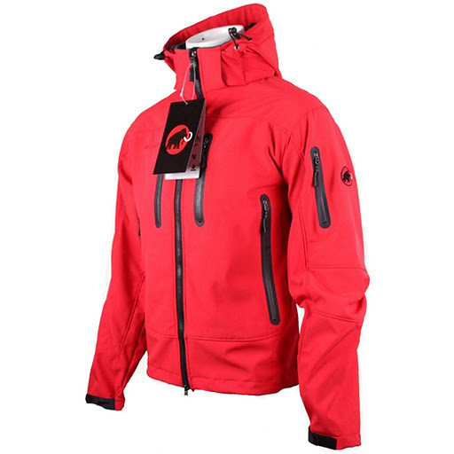 free shipping stable quality good looking Mammut SoftShell Jacket - Mens Red Jackets | 2011 New jacket ...