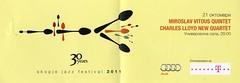 Miroslav Vitous, Charles Lloyd @ Skopje Jazz Festival, MACEDONIA