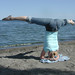 Small photo of LO 19 Straddle Headstand