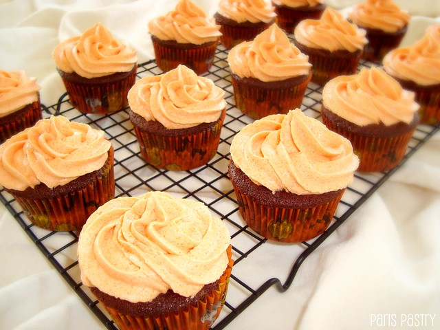 Devil's Food Cupcakes with Caramel Frosting | Recipe from Th ...