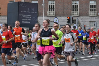 The 32nd Dublin City Marathon - October 2011