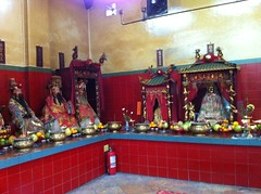 Deities in Tin Hau Temple