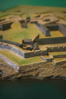 Attēls no Charles Fort pie Kinsale. miniature model bokeh kinsale charlesfort starfort
