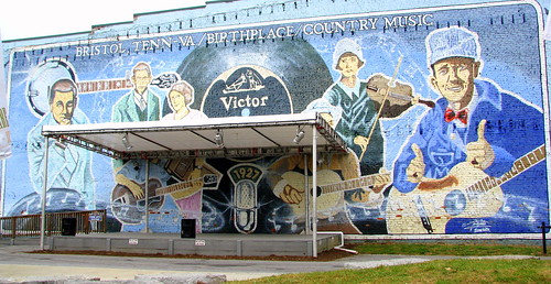 Birthplace of Country Music Mural - Bristol, TN