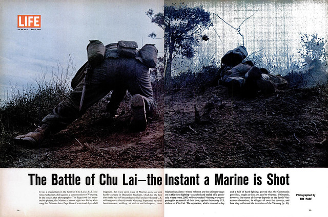 LIFE Magazine September 3, 1965 (2) - The Battle of Chu Lai, the Instant a Marine is Shot