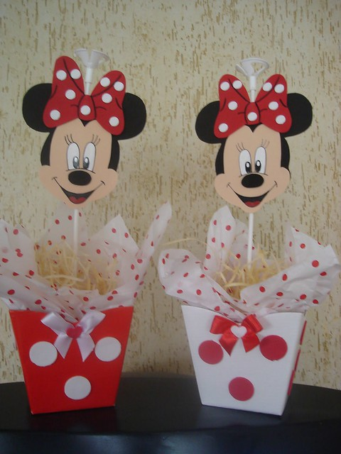 CENTRO DE MESA =MINNIE MOUSE= - YouTube