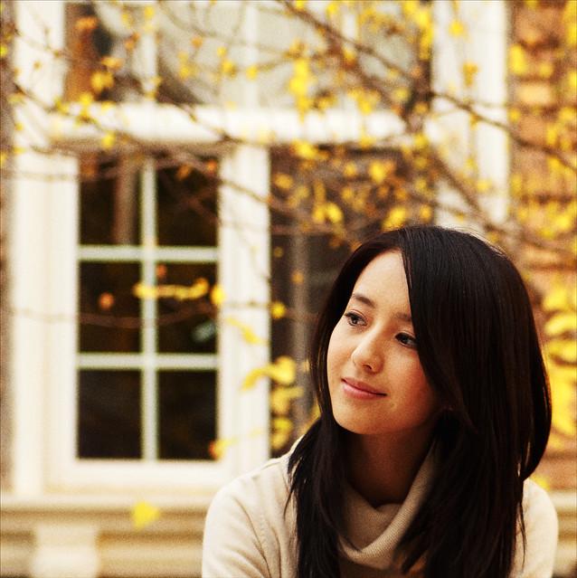 Pretty Girl in Autumn