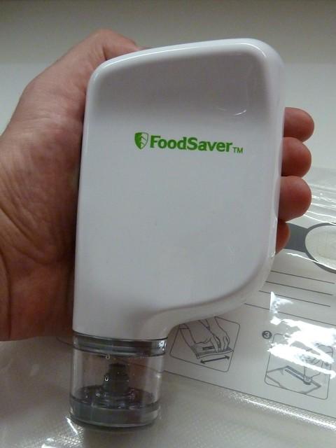 La máquina FoodSaver