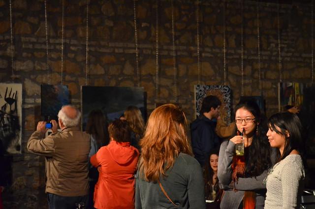 Yi Li and Nicolei at Circolo