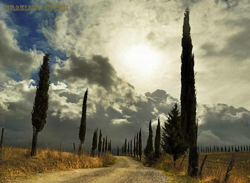 passeggiando per la Val D' Orcia-----Strolling through the Val D'orcia