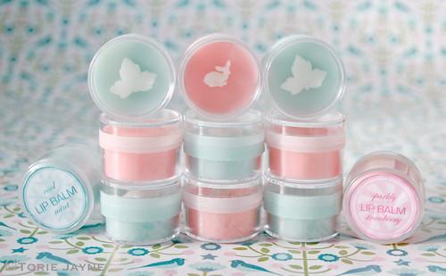 Hand-made lip balms for Christmas