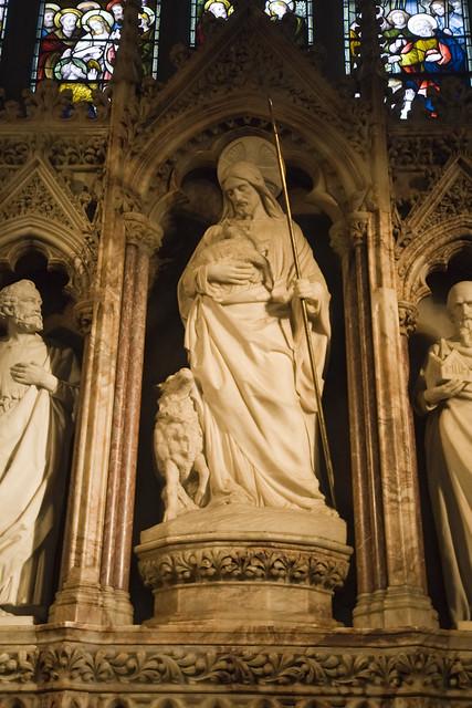 Jesus in Chapel of the Good Shepherd