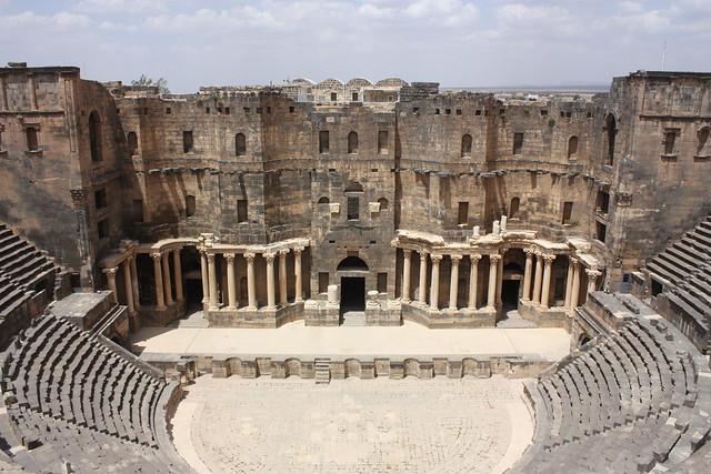 Bosra, theatre