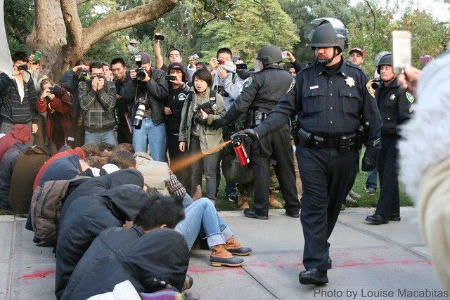 UC Davis pepper spraying