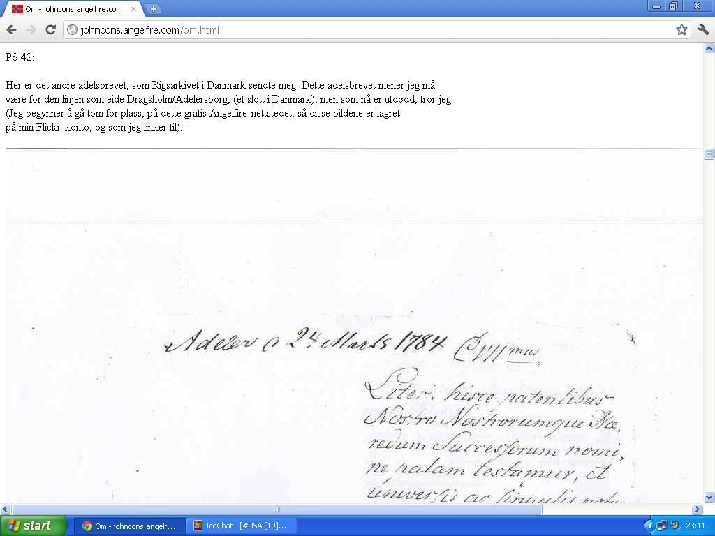 andre adelsbrev