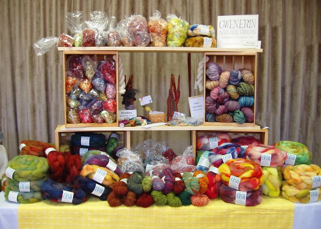 booth at Indie Knit & Spin