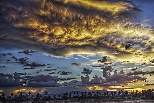 sunset summer arizona sky mountains clouds canon az hdr luminance 50d qtpfsgui