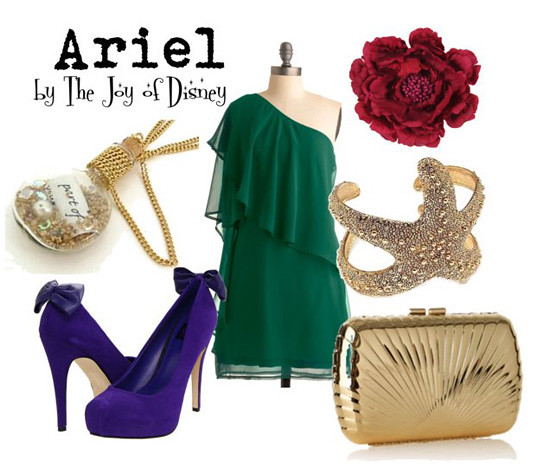 Inspired by: Ariel, Little Mermaid