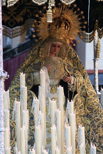 Ntra. Sra. de las Lágrimas, Hermandad de la Exaltación de Sevilla, Jueves Santo 2010