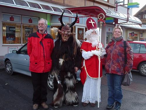 Sinterklaas in Oostenrijk