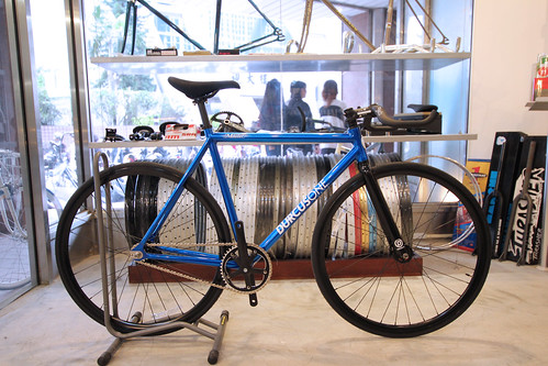 CUSTOM DURCUS ONE MASTER TRACK BIKE(2012 CANDY BLUE)