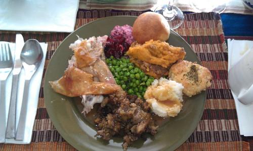 My full plate