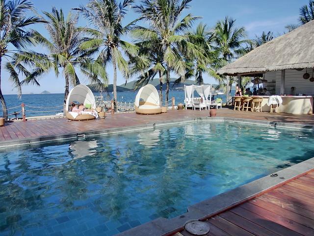 Terrace pool - Evason Ana Mandara Nha Trang (エバソン アナ マンダラ ニャチャンのテラスプール