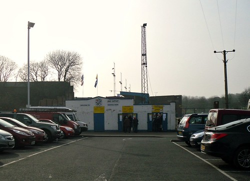 Entrance Turnstiles, Central Park, Cowdenbeath