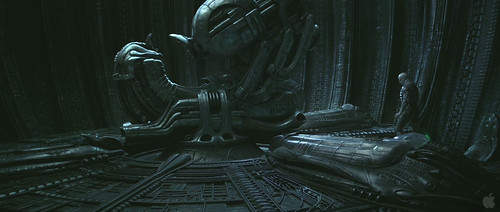 Prometheus Trailer2 - Pilot sans Suit