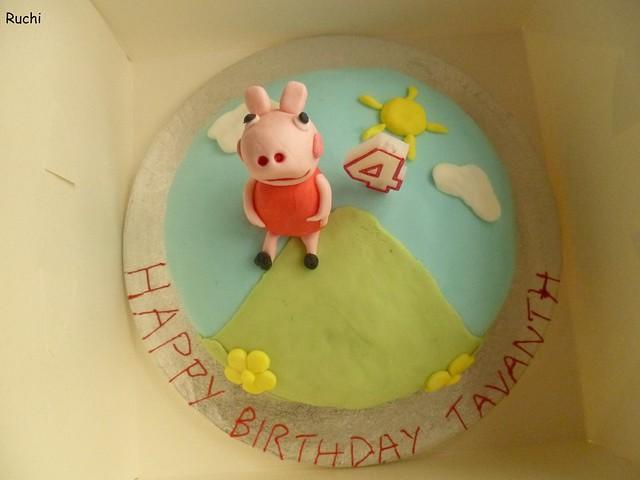 RUCHI: Peppa Pig Cake