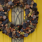 DIY Natural Fall Wreath